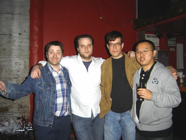 Nigel, Joe, Dolf & Johnny
