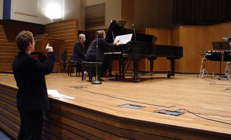 Sunny Rehearses His Piece